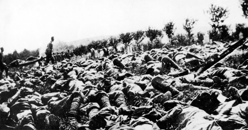 wwi dead attrition
