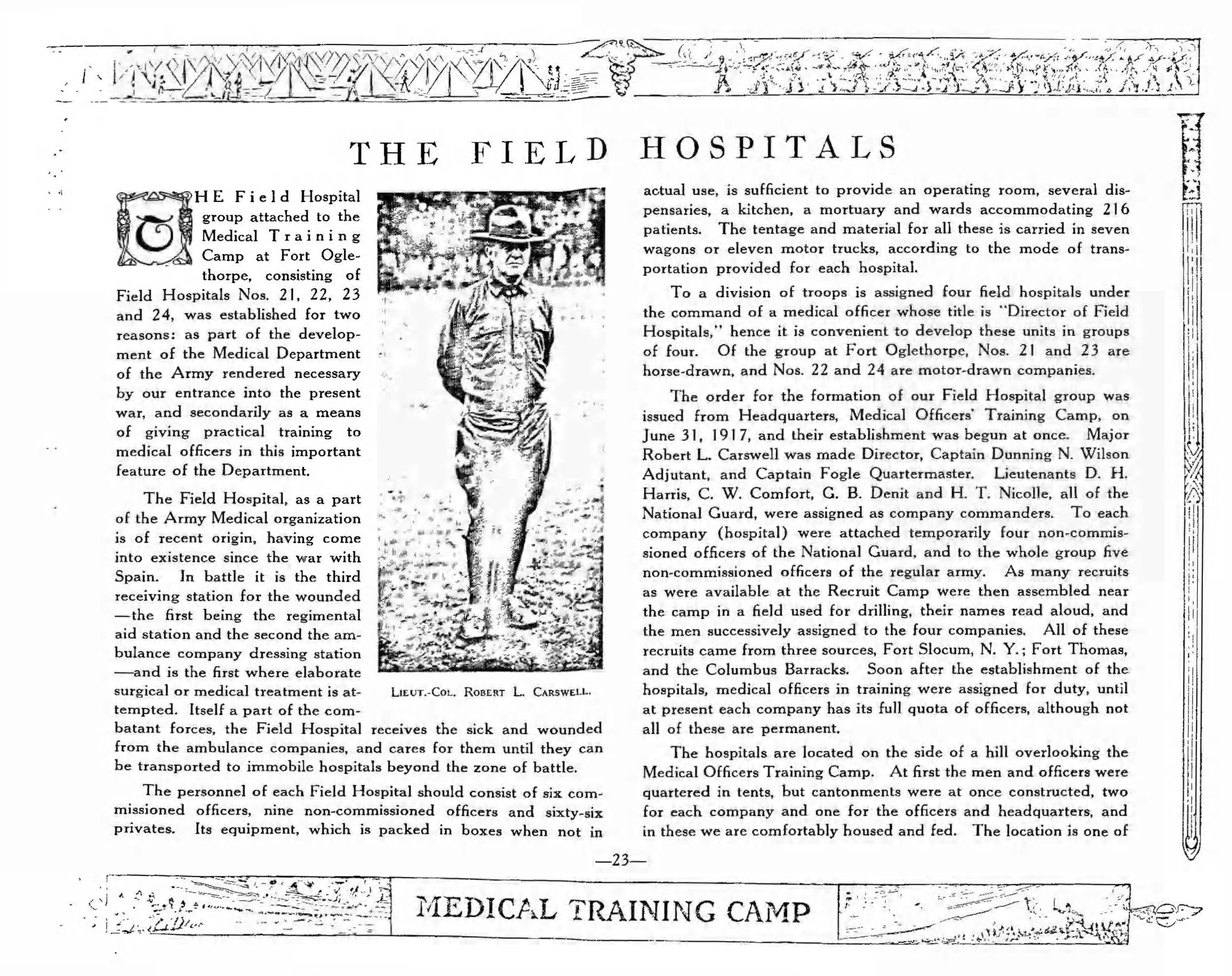 Medical Training Camp pages 23 31