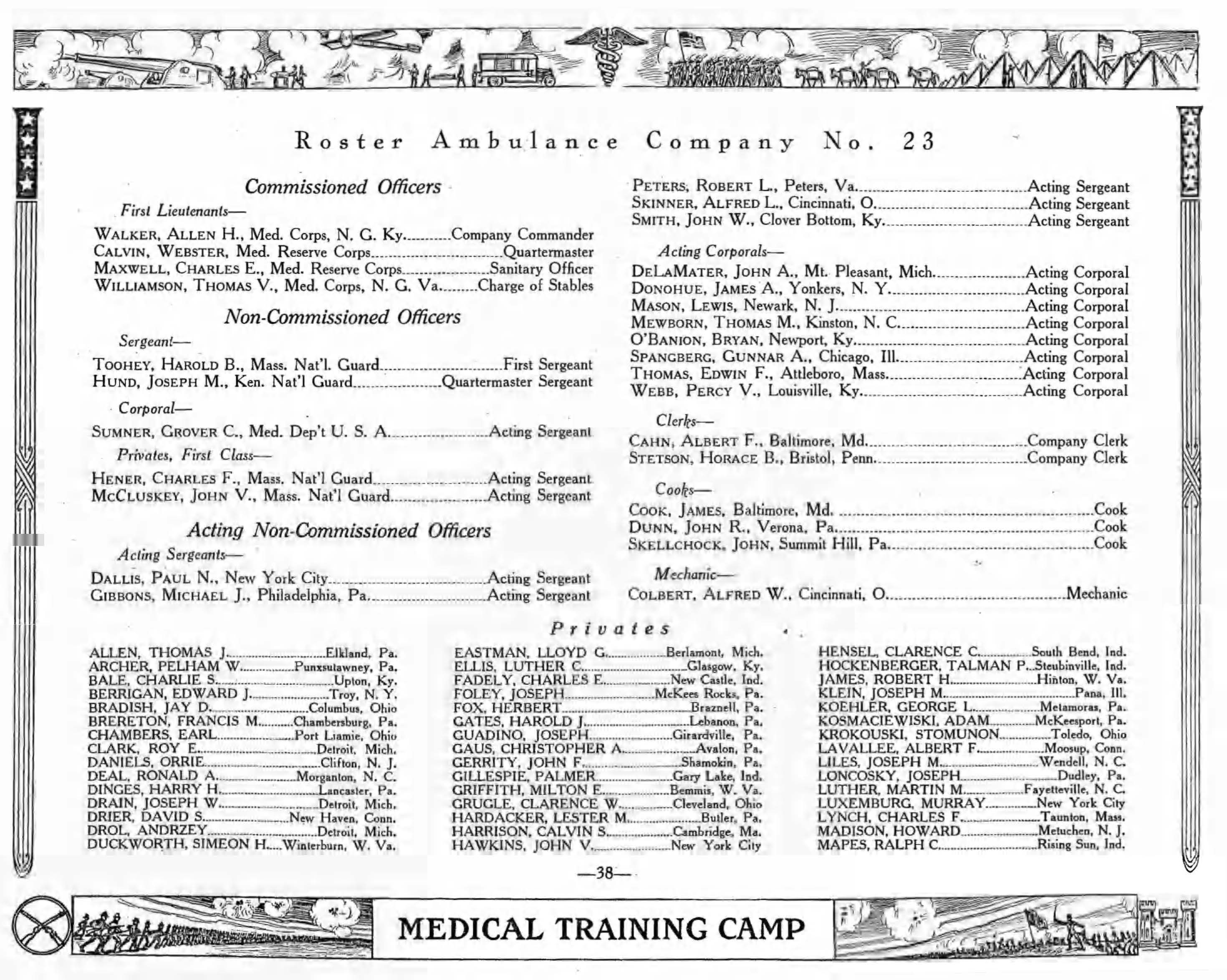 Medical Training Camp pages 38 47