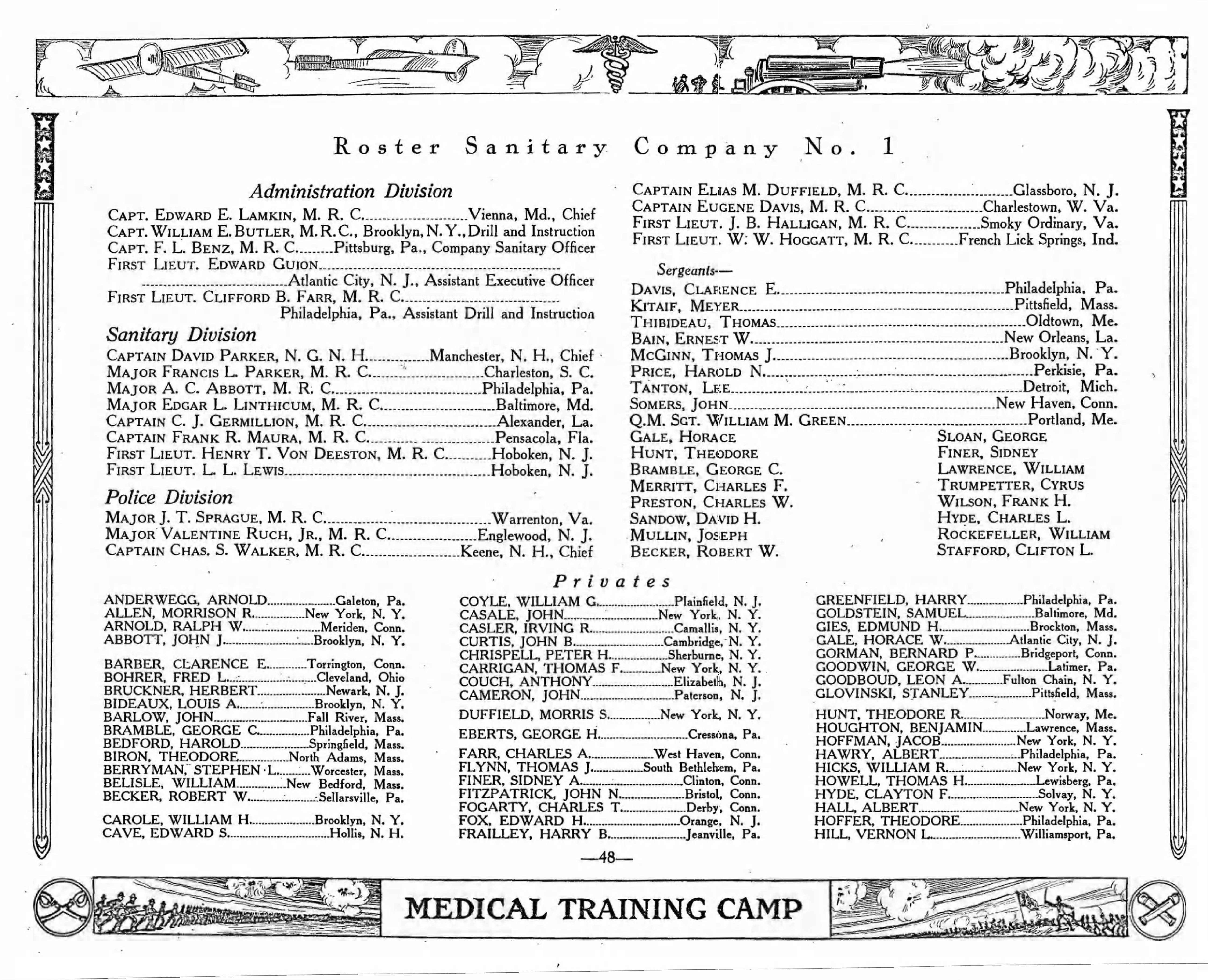 Medical Training Camp pages 48 55