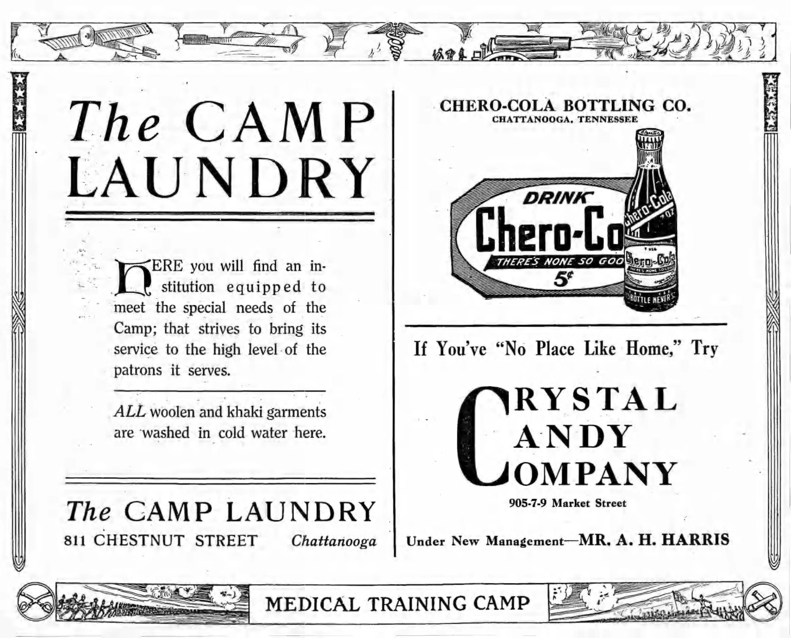Medical Training Camp pages ad pages