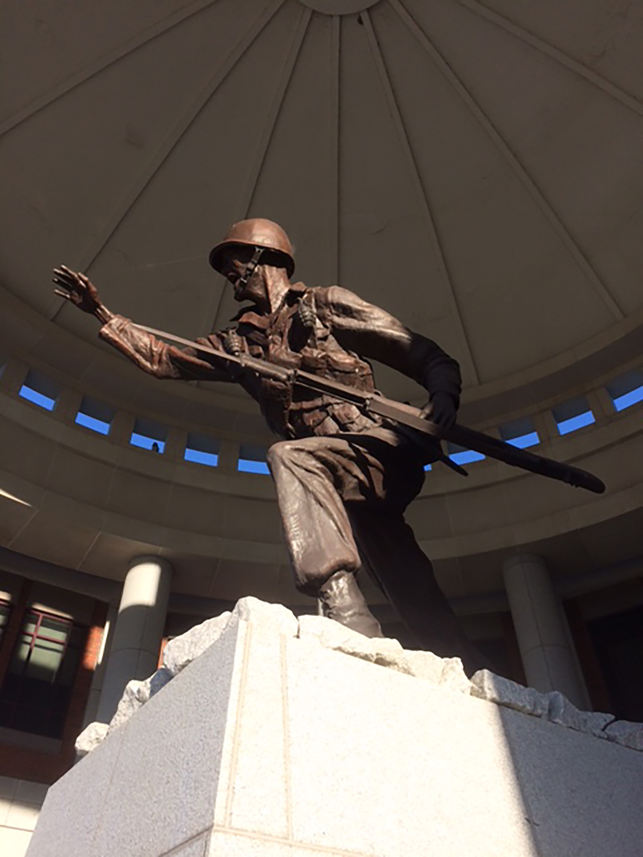 Statue of Soldier