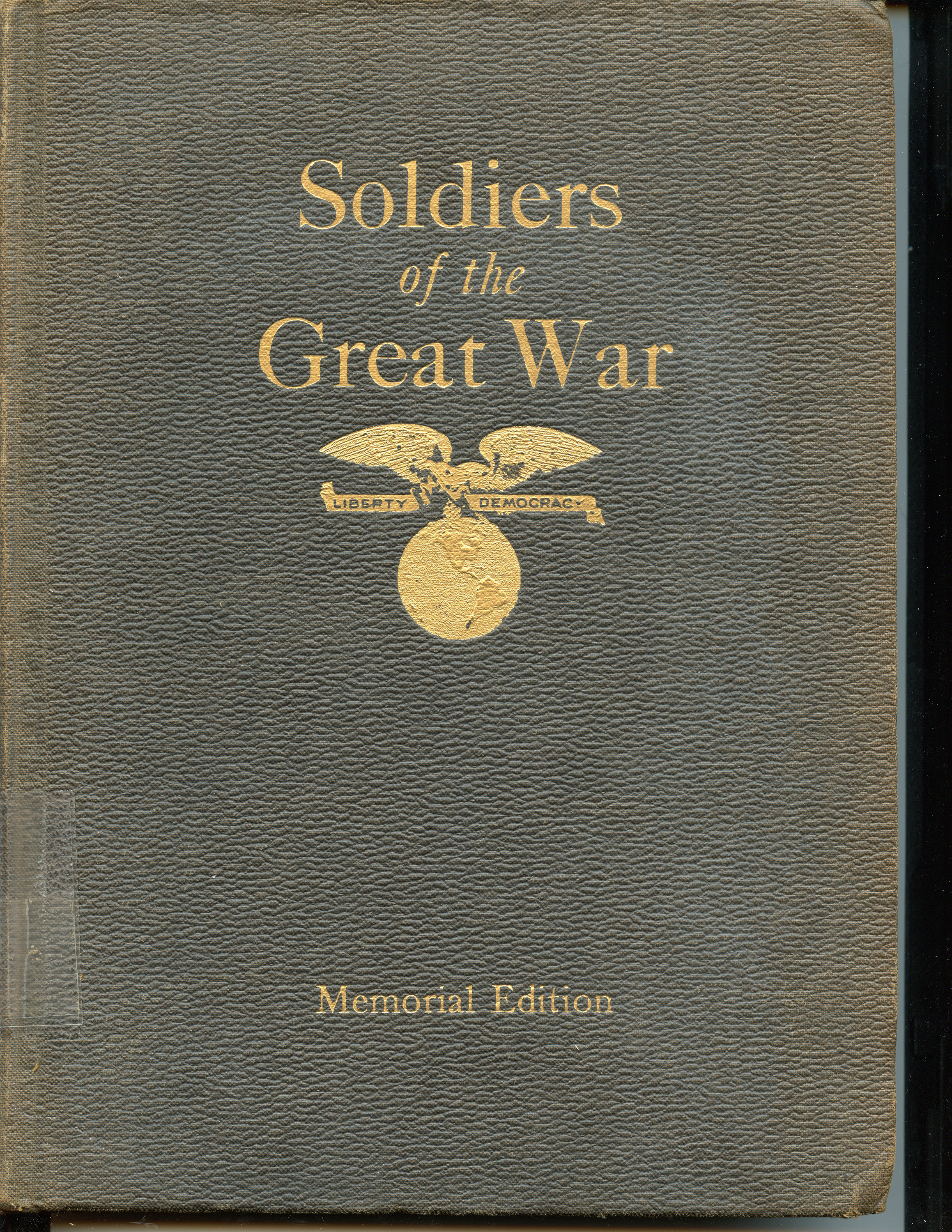 Soldiers of The Great War Book Cover