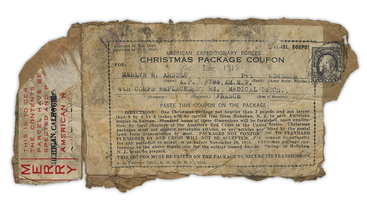 american expeditionary forces christmas package coupon
