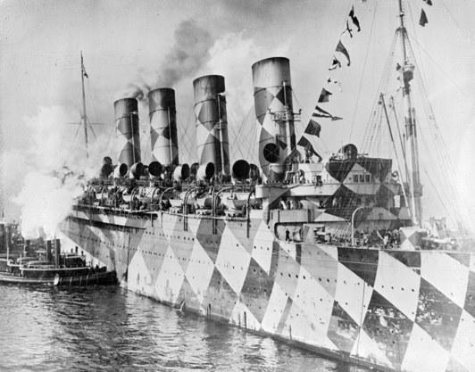 How Cubism Protected Warships in World War I - World War I Centennial