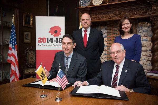 Flanders agreement signing 04262016