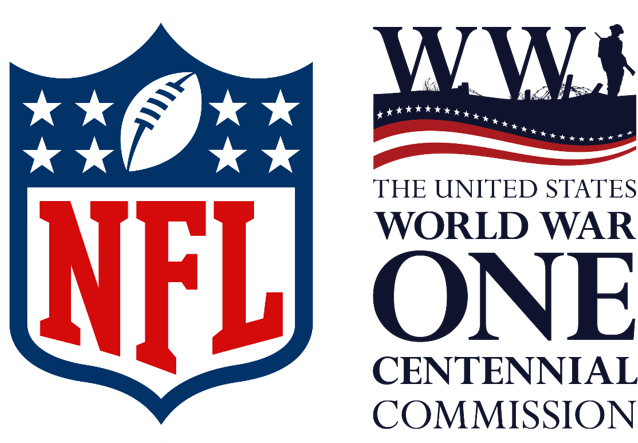 NFL Commission logos side by side