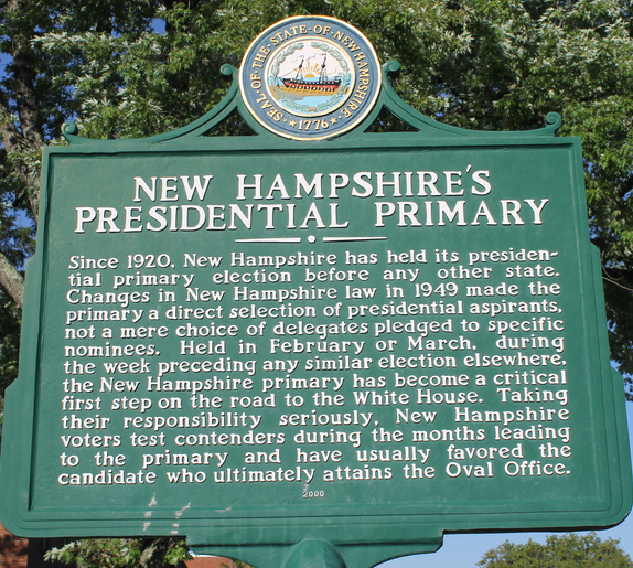 NH Primary Sign