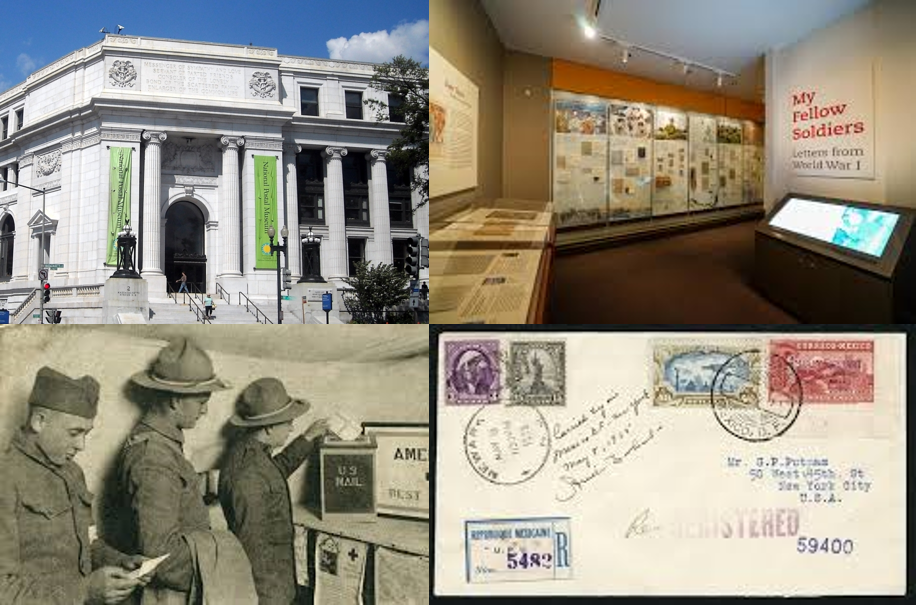 Postal Museum Collage