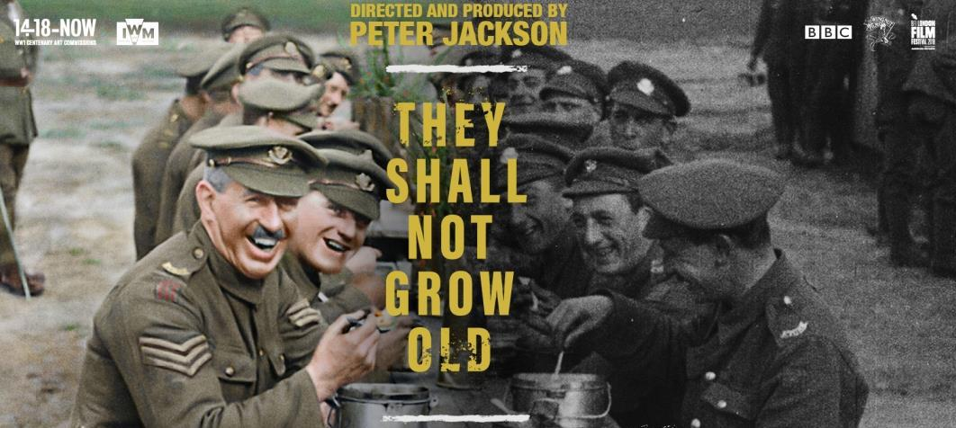 Peter Jackson's WWI Doc 'They Shall Not Grow Old' Sets Brand New