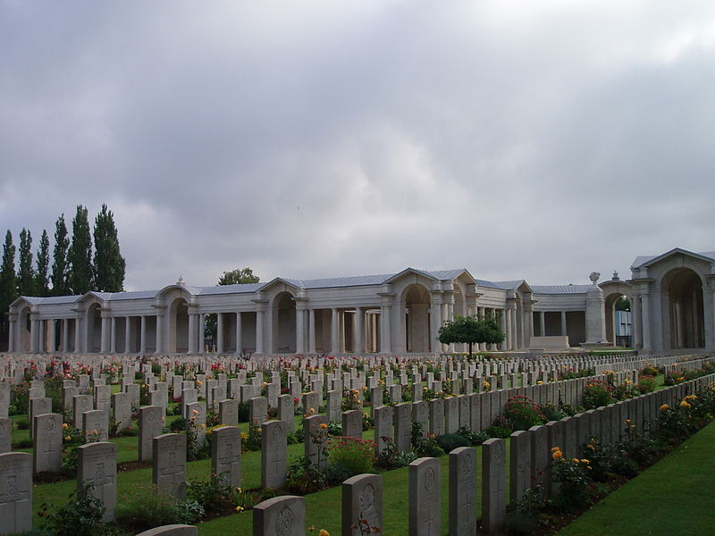 Arras Memorial and Fauberg DAmiens Cemetery