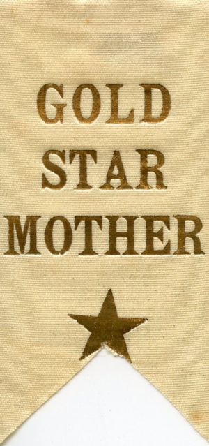 Gold Star Ribbon