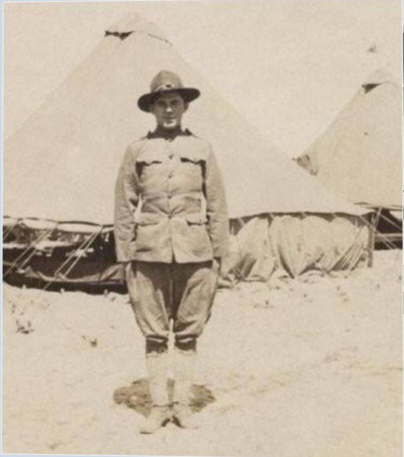 Harry Edwin Roach in uniform2