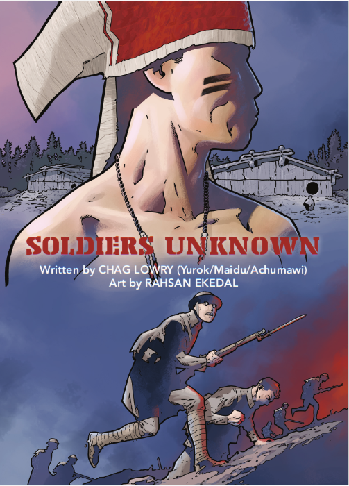 Graphic Novels and Native American WWI Soldiers