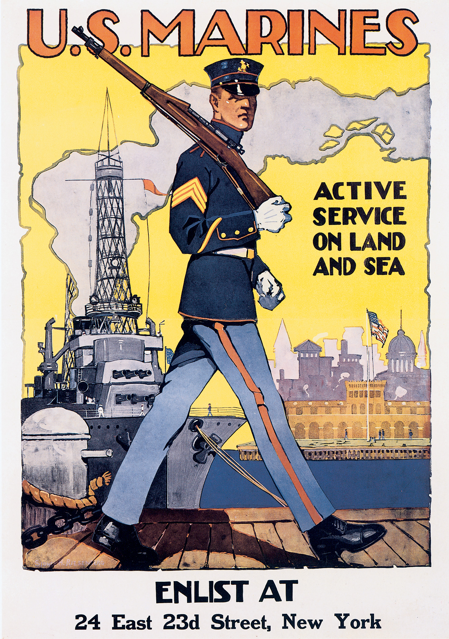 marine corps recruiting posters of the great war world war i centennial