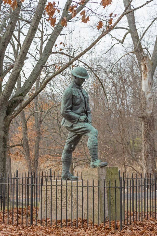 The Timothy Ahearn Memorial in New Haven, Connecticut - Part I