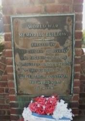World War Memorial Building - Beverly