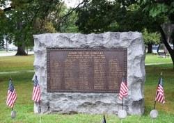 WWI Honor Roll - Dunellen