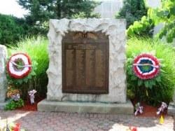 WWI Monument - Hawthorne