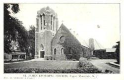 St. James Episcopalian Church Memorial Bell Tower - Montclair