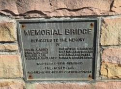 War Memorial Bridge - Mount Holly