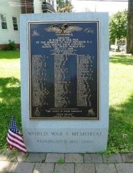 WWI Memorial - West Paterson
