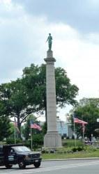 War Memorial-Clio the Muse - Westfield