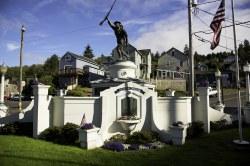 Doughboy Monument -- Astoria