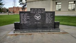 WWI Memorial - Prowers County Courthouse Square