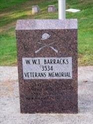 WWI Memorial - Fairview Cemetery