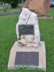 Ridgeway Cemetery WWI Memorial