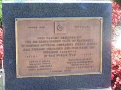 WWI Memorial Veterans Memorial