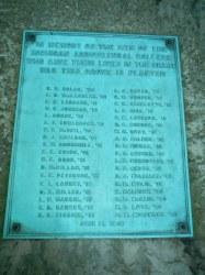 Memorial Grove of the Great War