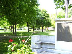 World War Memorial Ludington City Park