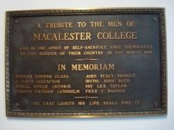 Macalester College Memorial