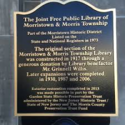Morristown and Morris Township Library
