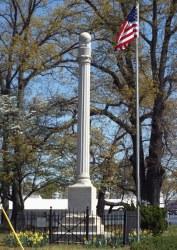 Camp Greene WWI Monument