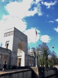 Lafayette Escadrille Memorial Marnes-la-Coquette France