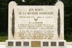 Moroccan Division Monument on Vimy Ridge Artois