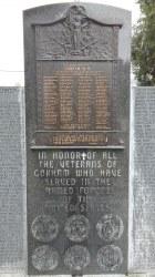 Gorham Common Soldiers & Sailors Memorial Monument