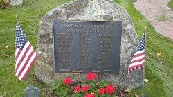 Hampton Falls World Wars 1 & 2 Honor Roll