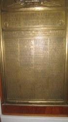 American Legion Post 1420 Fabbys Memorial Plaque