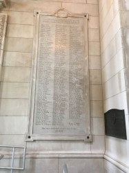 The World War Memorial Wall of Missouri's 35th Division