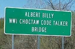 Albert Billy Code Talker Bridge