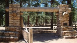 Grand Canyon Pioneer Cemetery Gate
