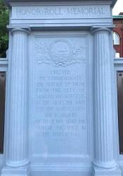 Medford Honor Roll Memorial