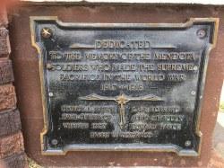 """World War"" Memorial Community Drinking Fountain"