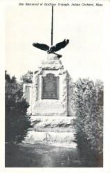 Godfrey Triangle World War I Monument