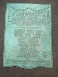 Highbridge War Memorial Doughboy