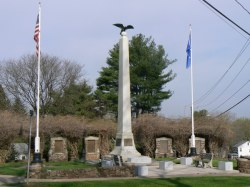 War Memorial on Worthington Ridge